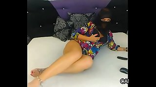 Pleasing Arab Minx With Her Hijab